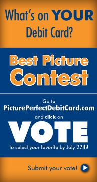 Click to vote for your favorite Picture Perfect Debit Card at pictureperfectdebitcard.com