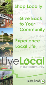 Live Local with Hills Bank!
